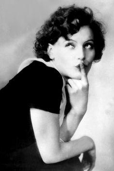 Twenty year old Greta Garbo, 1925