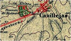 Plano de Canillejas 1877-1881 Madrid, Towers, Street, Life