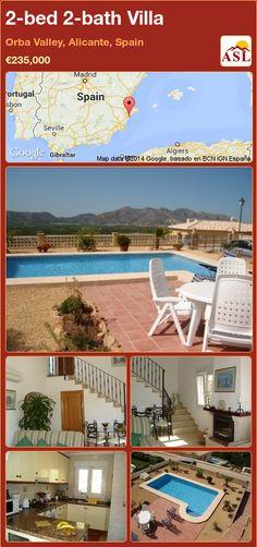 2-bed 2-bath Villa in Orba Valley, Alicante, Spain ►€235,000 #PropertyForSaleInSpain
