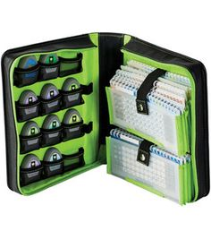 I really want this, but I would need at least 2 of them and they are kind of pricey....maybe the original packaging is good enough..lol                       Provo Craft Cricut Cartridge Storage Binder: die cut machines & accessories: scrapbooking: Shop | Joann.com