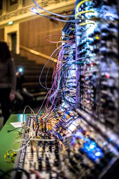 Modular synths are enjoying high times at the hands of a trio of passionate knob-twiddlers... http://www.we-heart.com/2014/11/03/london-modular-alliance-interview/