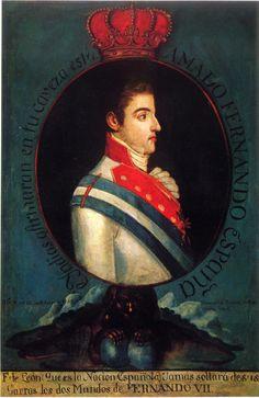Proclamación de Fernando VII