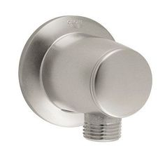 """Grohe 28 459 Movario Wall Supply Elbow With 1/2"""" Connection Brushed Nickel Shower Accessories Wall Supply Elbows"""