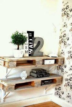Querida Claudina: Muebles con palets: Estanterías, Cabeceros y otros