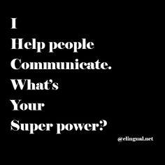 Interpreters are super heroes :) via www.elingual.net #foreignlanguagesenglish