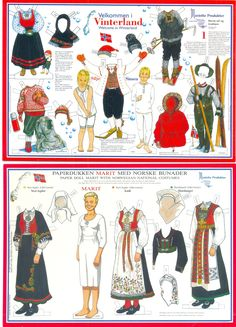 https://flic.kr/p/2ctTbr | Paper doll Silje&Simen and Marit no.2 | From Cathy71, Australia :-)