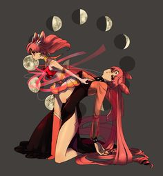 One of the most creative Mini Moon / Wicked Lady fan arts I've seen!