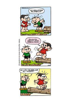 Variação Linguística na fala do Cebolinha!