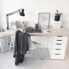 Trendy home office ikea desk bedrooms ideas Home Office Desks, Office Decor, Office Ideas, Office Setup, Office Themes, Office Designs, Design Offices, Office Inspo, Office Workspace