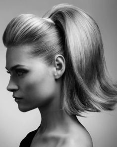 Queue De Cheval Hairstyle : ... about 60s hair on Pinterest 60s hairstyles, 60s hair and Ponies