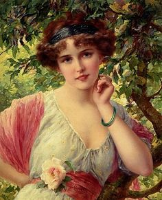 Emile Vernon, A Summer Rose
