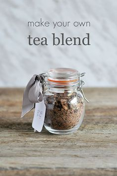 DIY Gifting:  Make Your Own Tea Blend via Lifeovereasy: