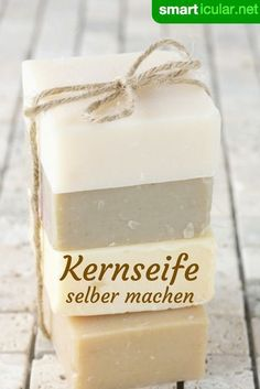 Make your own vegetable soap without palm oil- Pflanzliche Kernseife selber machen ohne Palmöl Kernseife is a versatile home remedy, it can even be produced with just a few ingredients. Foundation Sponge, Natural Foundation, E Cosmetics, Natural Cosmetics, Diy Beauty, Beauty Hacks, Beauty Tips, Beauty Skin, Beauty Care