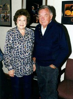 Kitty Wells and Ray Price