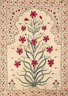 V&A indian textile pattern