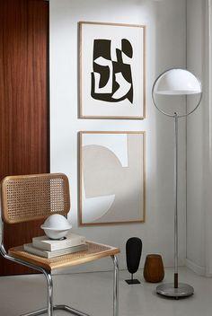 Interieur Liebe: Rattan - Bookshelf Decor - Smokey Eye Make Up - Golden Necklace - DIY Hairstyles Long - DIY Interior Design Modern Interior Design, Interior Styling, Interior And Exterior, Interior Decorating, Contemporary Interior, Modern Art, Diy Interior, Apartment Interior, Apartment Ideas