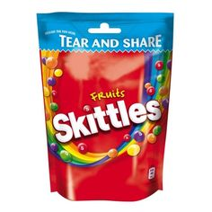 Chewy Candies in a Crisp Sugar Shell with Sour Fruit Flavours. Skittles Sweets, Sour Skittles, Accidentally Vegan Foods, Hard Candy Primer, Hard Candy Concealer, Candy Film, Fruit Pouches, Hard Candy Molds, Gourmet