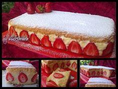 Zcela jednoduchý jahodový dortík, který připravíte velmi rychle. Klasický vanilkový krém je v kombinaci s jahodami neuvěřitelně chutný.