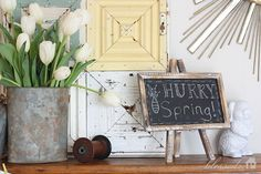 Spring Decorating Ideas :: Clover House, DeeDee's clipboard on Hometalk :: Hometalk