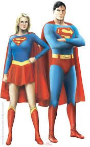 Helen Slater as Supergirl and Christopher Reeve as Superman. Pre-new 52 Supergirl. Superman Artwork, Superman Movies, Superman Family, Dc Movies, Comic Movies, Superman Photos, Comic Books, Power Girl Supergirl, Supergirl Superman