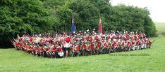 Reenactors Forming a Square Waterloo 1815, Battle Of Waterloo, Bruges, Bataille De Waterloo, 28mm Miniatures, War Of 1812, Ardennes, Manneken Pis, Napoleonic Wars