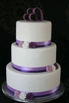 simple wedding cakes - Google Search