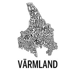 värmland svart - Yahoo Bildsökresultat Decorating Your Home, Sweden, Maps, Instagram, Cards, Map