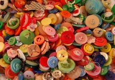 Button assortment from the 1930s @Alberta Love