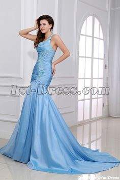 1st-dress.com Offers High Quality Blue One Shoulder Military Evening Gowns,Priced At Only US$169.00 (Free Shipping)