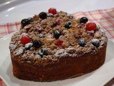 Torta Grumos de cerezas, por Osvaldo Gross