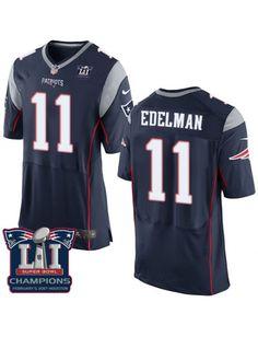 8ad8a167a685c Patriots Tom Brady 12 jersey Nike Patriots Julian Edelman Navy Blue Team  Color Super Bowl LI Champions Men's Stitched NFL New Elite Jersey