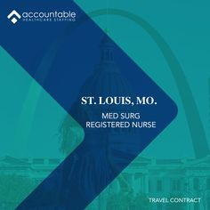 Great outdoors, art, history, entertainment, shopping, and sports. In #Missouri, there's a show that defies expectations for every audience. With travel contracts for Med/Surg assignments, Accountable Healthcare Staffing has great opportunities in Saint Louis for RNs. Contact our Missouri branch for more info at 314.261.9590. Email: St.Louis@AHCStaff.com #jobs #travel #healthcare #nursing #registerednurse