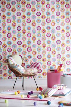 Fun-filled wallpapers are a great way of inspiring children of all ages! Here are our favourite witty and whimsical children's wallpapers.