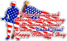 {Happy Memorial Day Glitter Graphics Memorial Weekend Myspace Graphic for FB, Whatsapp