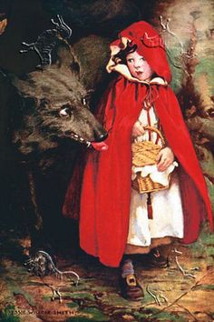 Little Red Riding Hood by Jessie Wilcox Smith