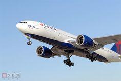 NY線など成田発着3路線を今秋から運休へ デルタ航空、アジア路線を再編   乗りものニュース