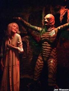Creature from the Black Lagoon.  Musee Conti: Wax Museum of New Orleans