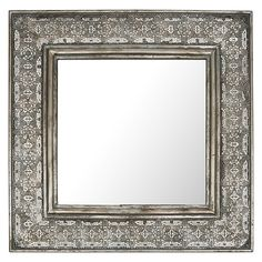 mirror zanui. square wide metal cutout mirror by casa uno | zanui