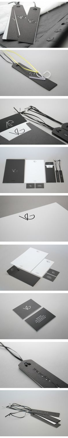 Vanessa Gate. Womenswear Designer Brand Identity by Jonathan Finch via Behance | #stationary #corporate #design #corporatedesign #identity #branding #marketing < repinned by www.BlickeDeeler.de | Visit our website: www.blickedeeler.de/leistungen/corporate-design