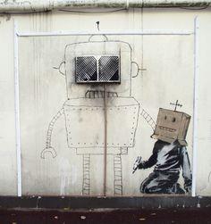 Banksy. Reino Unido.