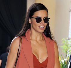 Adriana Lima in sunglasses #sunglasses #shades #fashion #streetstyle