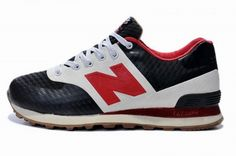 2014 Joe New Balance ML574 Black Red White Mens Shoes