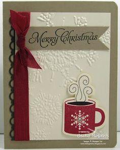 Handmade Christmas Card Ideas | Homemade Christmas Cards