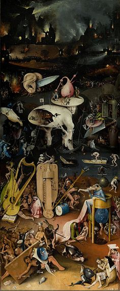 Hieronymus Bosch - The Garden of Earthly Delights - Hell - Hieronymus Bosch - Wikipedia