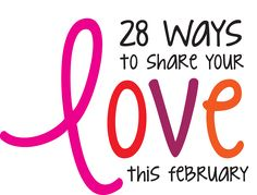 28 Ways to Share Your Love this February – Catholic Charities of Denver