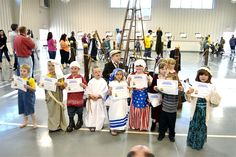 Our Lady of the Lake School Creates a Living Wax Museum