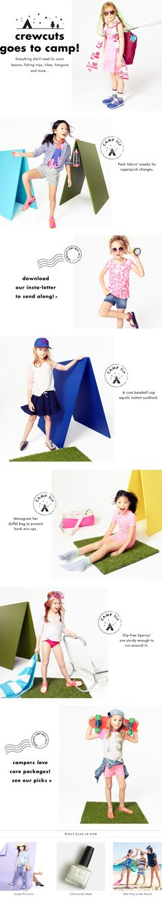 crewcuts Goes to Camp! - J.Crew