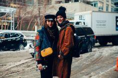 Julia Ratner & Barbora Podzimkova model off duty