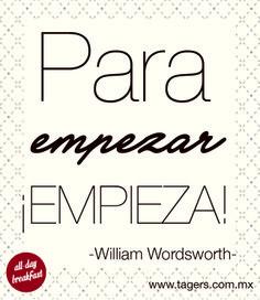 #Frases #Quotes #FrasesParaEmpezarElDia #Tagers