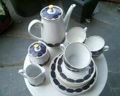 LETTIN Porzellan, DDR, GDR, East German Vintage Tableware